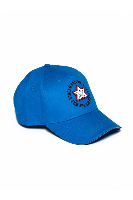 Cotton cap CAP-ICONIC Vic blue