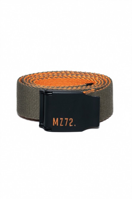 Bicolor cotton belt...