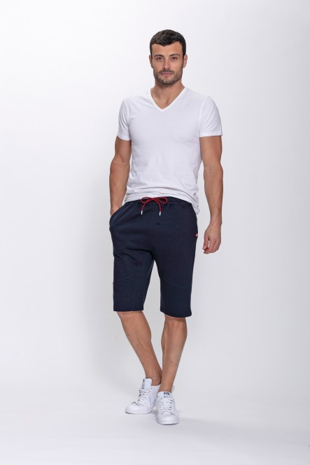 Fleece shorts VALE Navy