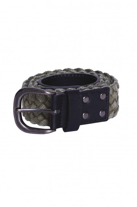 Braided washed out belt...