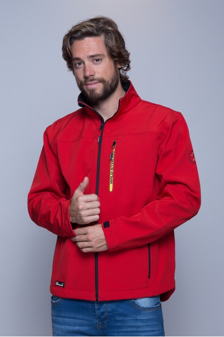 Veste softshell IGLOO Rouge