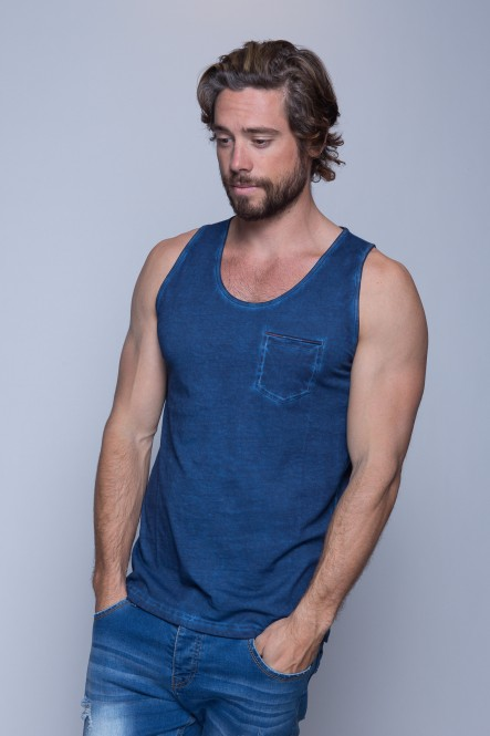 Cold dyed tank top TORY...