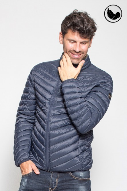 Light down jacket LEDGE Navy