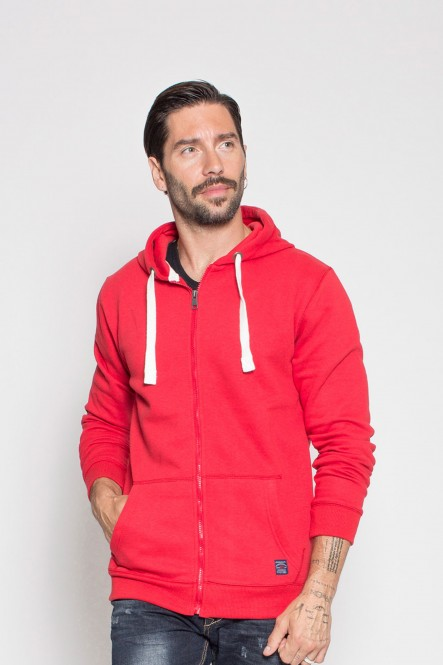 Hooded full zip sweatshirt...