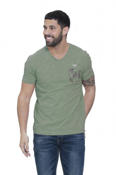 Printed pocket t-shirt...