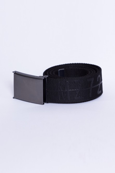 Cotton belt BELT-GRAPHIC Black