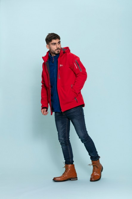 Softshell jacket IFRAME Red