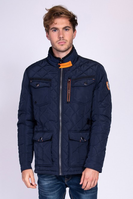 Quilted jacket LEKOHA Navy