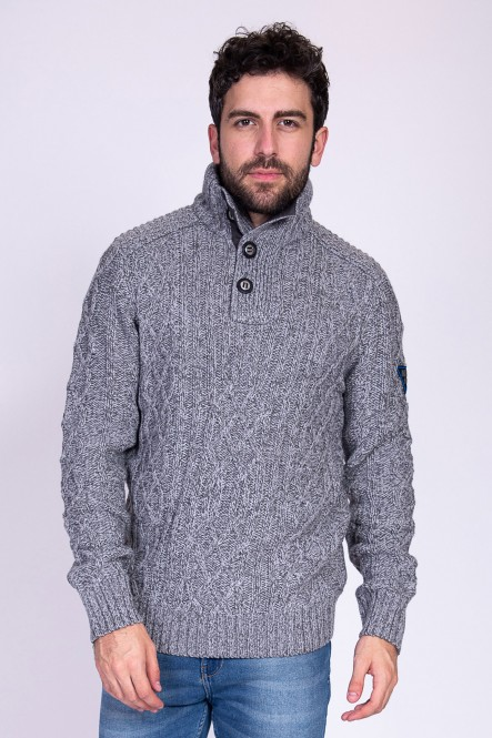 Pull SOGROUND Gris clair...