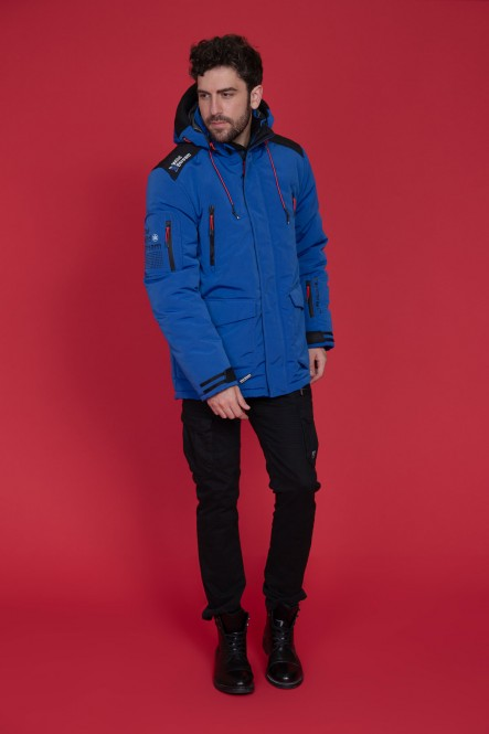 Coat LANQUISE Electric blue
