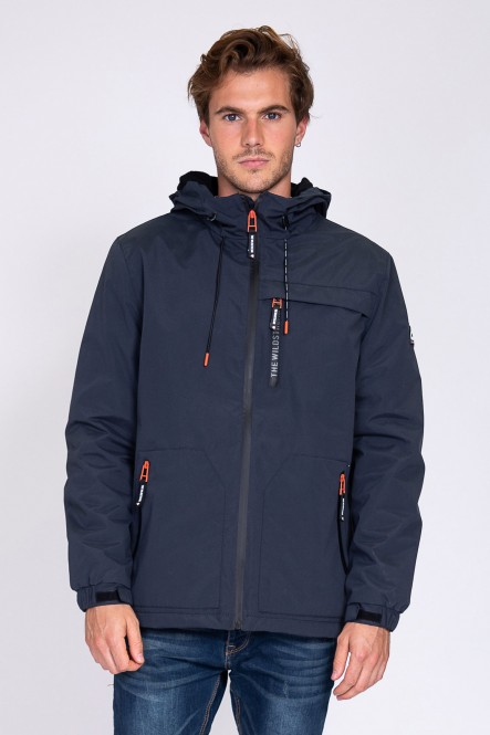 Parka LETWIND Navy
