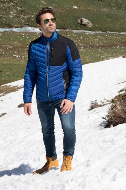 Puffy jacket LIGHTNORTH Cobalt