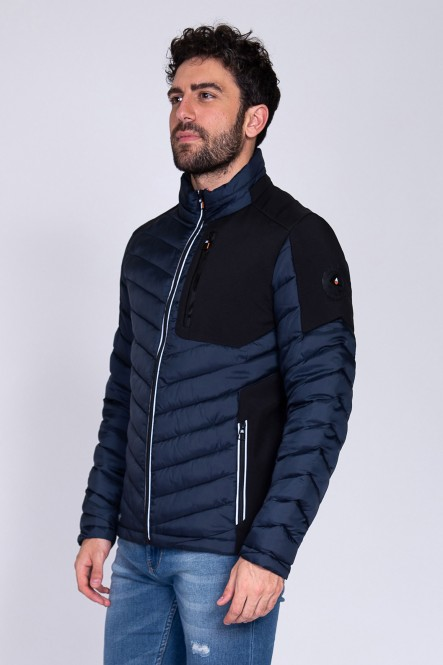 Puffy jacket LIGHTNORTH Navy